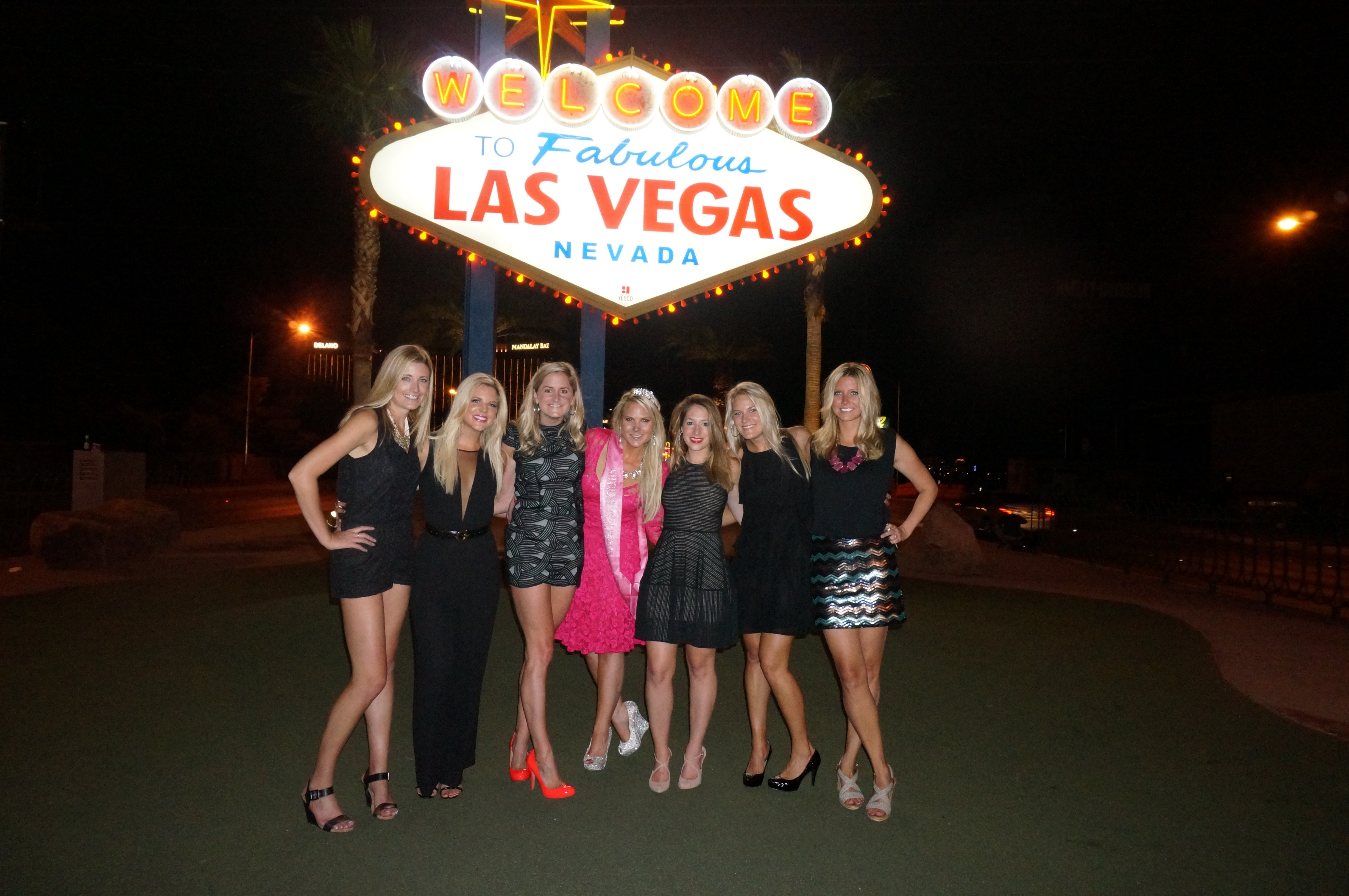 Wear to what night out in vegas