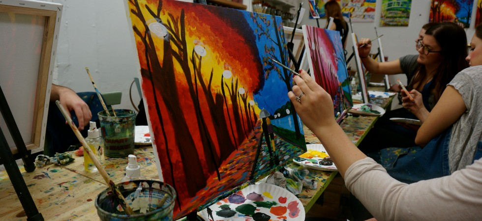 nyc lifestyle blog best of manhattan ladyhattan painting class