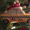 Getting in the holiday spirit nyc ladyhattan taxi ornament ladyhattan