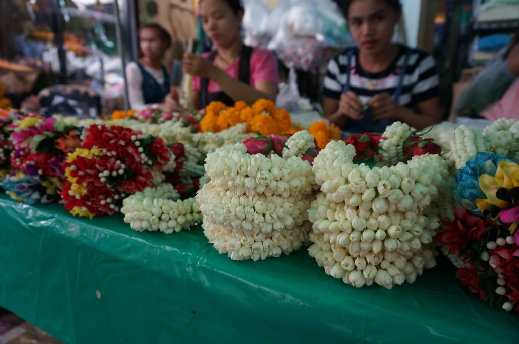 Bangkok, Thailand – Longtail Boat Guide, The Flower Market and Wat Pho
