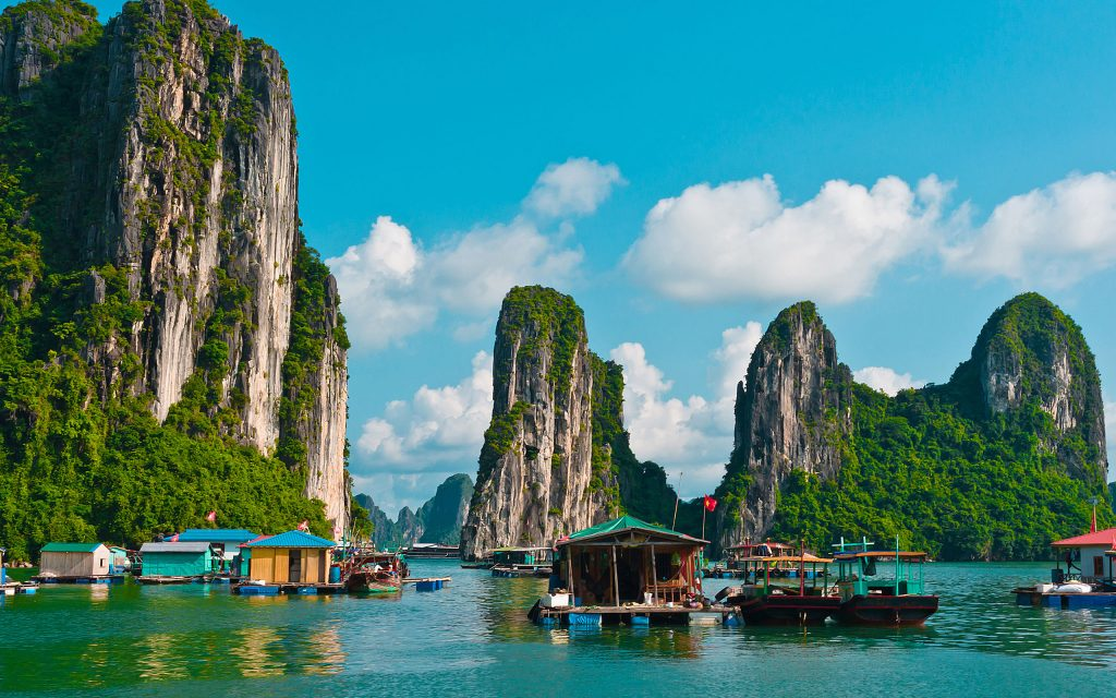 Halong Bay, Vietnam – The Floating Village and Pearl Farm
