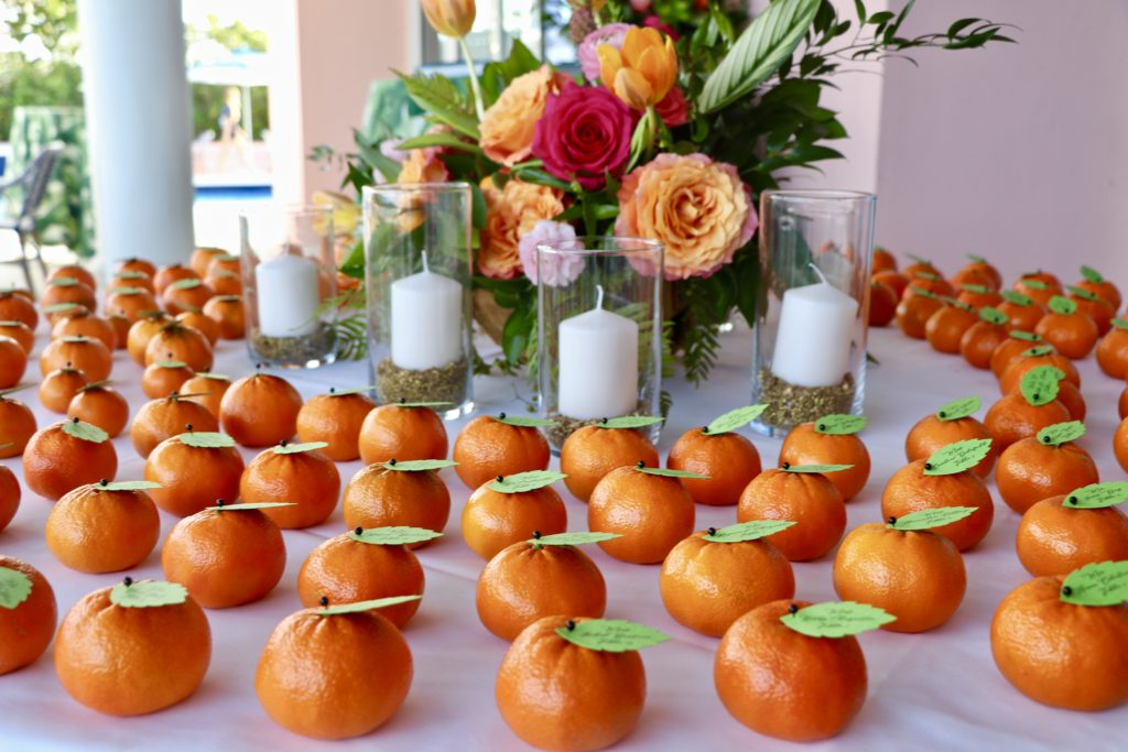 Gulf Stream, Florida – Fruity Wedding Details in the Sunshine State