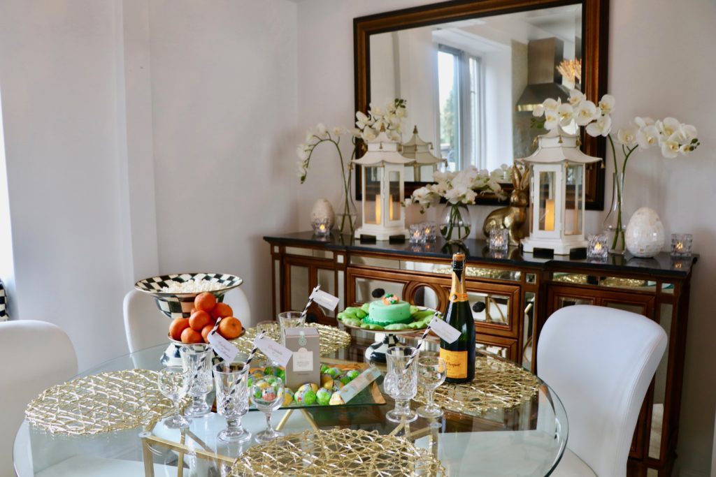 Manhattan Home – Hosting My Family for a St. Patrick's Day Brunch Party